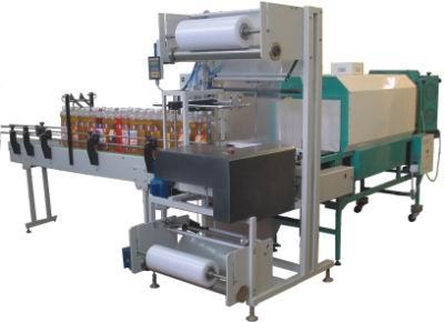 процесс упаковки в термоусадочную пленку